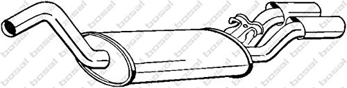Preisvergleich Produktbild Bosal 105-127 Endschalldämpfer