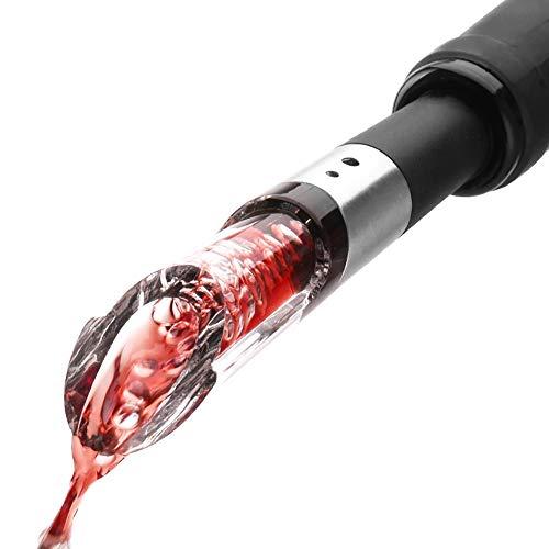 Verseur aérateur de vin, Aérateur Rapide, du Vin Pourer, aération Bec verseur pour vins Rouges et Blancs - Décanter Le vin avec élégance et simplicité