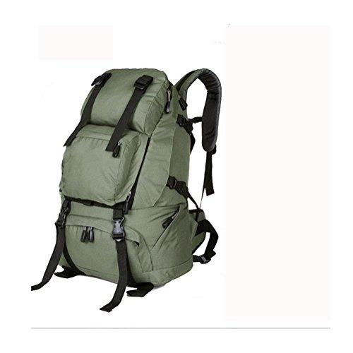 Zaino 40L viaggio all'aperto Backetravel sacco da alpinismo , black Green
