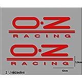 PEGATINAS OZ RACING R127 VINILO ADESIVI DECAL AUFKLEBER КЛЕЙ STICKERS CAR VOITURE SPORT RACING (ROJO/RED)