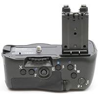 Minadax - Impugnatura portabatteria professionale, per formato verticale, per Sony Alpha A77 (Alpha SLT-A77V), equivalente a VG-C77, per 2 batterie NP-FM500H
