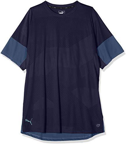 Puma Herren ftblNXT Graphic Shirt T, Peacoat-Dark Denim, L Denim-peacoat