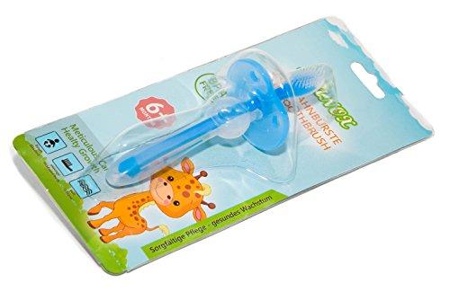 Baby Zahnbürste aus Silikon für eine gründliche Reinigung und Zahnfleischmassage