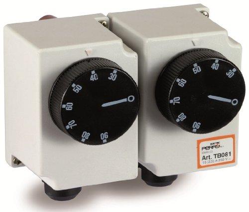 Bi-termostato meccanico Perry 1TCTB081 con bulbo ad