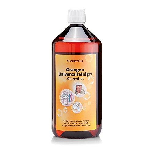 Sanct Bernhard Orangen-Universalreiniger Konzentrat mit Orangenöl, biologisch abbaubar 1 Liter
