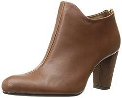 Aerosoles Womens Trustworthy Boot, Dark Tan Leather, 8 M US