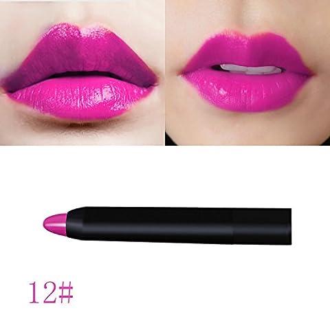 Sexy étanche Long Lasting Rouge à lèvres hydratant Lip Gloss à lèvres crayon Pen