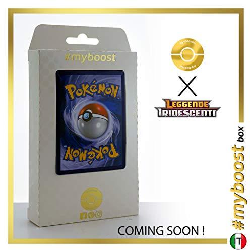 Hoopa 55/73 Holo Reverse - #myboost X Sole E Luna 3.5 Leggende Iridescenti - Box de 10 cartas Pokémon Italiano