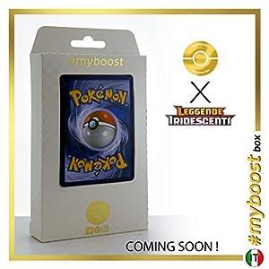 Hoopa 55/73 Holo - #myboost X Sole E Luna 3.5 Leggende Iridescenti - Box de 10 cartas Pokémon Italiano