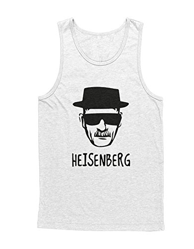 e Heisenberg Breaking Bad Unisex C653369 Weiß M (Breaking Bad Cosplay Kostüm)