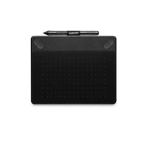 Wacom Cth-490/k2-cx Small Photo Pen And Touch Tablet (6.7 Nch), Black
