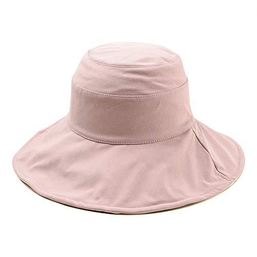 KFEK Frühjahr und Sommer große Becken Hut lässig Fischerhut Wild Outdoor Sonnenschutz Sonnenschutz UV Fischerhut E7 (Hirten Kostüm Muster)