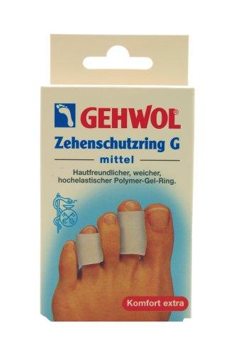 Gehwol 1026926 Zehenschutzring G Polymer-Gel-Ring, mittel
