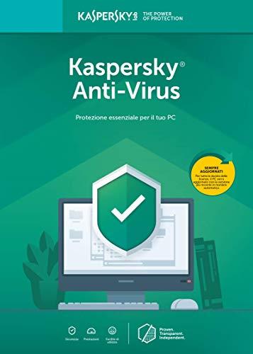 Kaspersky Anti-Virus | Full | 2 Dispositivo | 1 Anno | PC | Codice d'attivazione per PC via email
