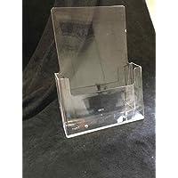 Acrílico cristal expositor de folletos revistero DIN A5transparente Publicidad