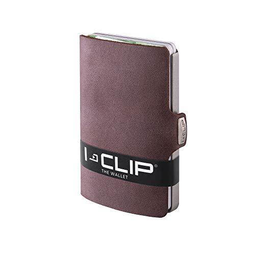 I-CLIP Geldbörse Robutense Soft Touch braun (in 9 Farben erhältlich) - Gun-clips