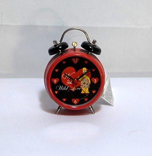 Reloj despertador Simpson Homer H 12cm D 7,5cm Corazones rojos