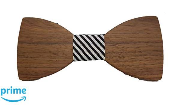 Vikings cravatta a farfalla legno Woody