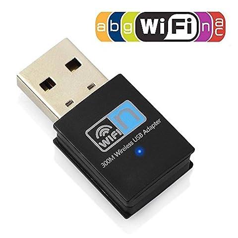 Dongle Usb Adapter - Clé wifi Adaptateur USB Wi-Fi sans fils