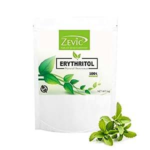 Zevic Erythritol Natural Sweetener, 1 kg