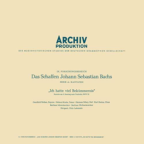 J.S. Bach: Cantata, BWV 21