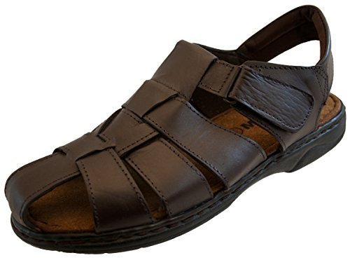 Mens Fisherman Leather Summer Sandals SIZE 9
