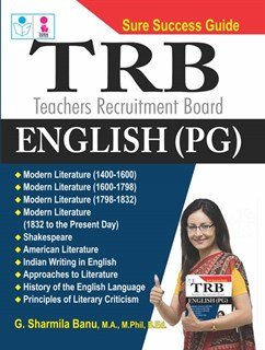 TRB PG English Exam Books