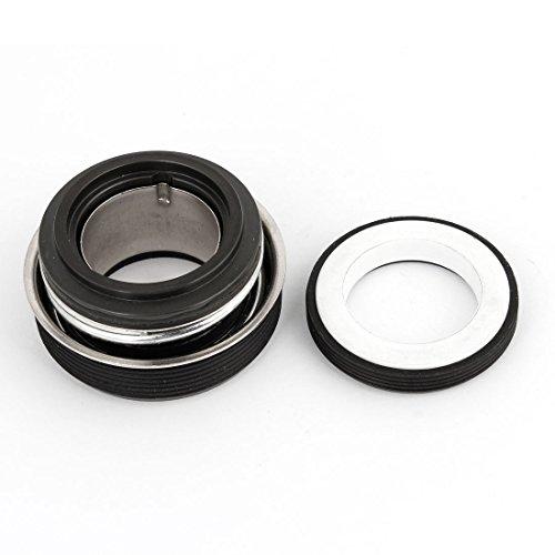 sourcingmap® 27mm Innendurchm Weiß Gummi Metall Klimaanlage Mechanisch Wellendichtung (Klimaanlage Mechanische)