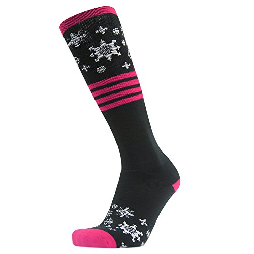 Gmark Women's Thick Sports Ski Snowboard Cotton Socks Valentine Gifts 1-9 Pairs