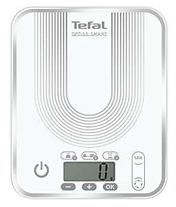 Tefal BC5022S5 Optiss Smart Balance de Cuisine Electronique avec Conversion Automatique 17,5 x 21,5 x 22 cm