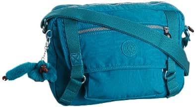 Kipling Shoulder Bag GRACY Blue Blau (Turq Blue 544) Size: 12x21x30 cm (B x H x T)