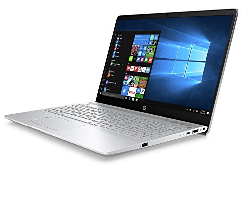 HP Pavilion 15-ck007ns - Ordenador Portátil 15.6' FullHD (Intel Core i7-8550U, 16GB RAM, 1TB HDD + 128GB SSD, NVIDIA GeForce 940MX de 2 GB, Windows 10), Color Plata -  Teclado QWERTY Español
