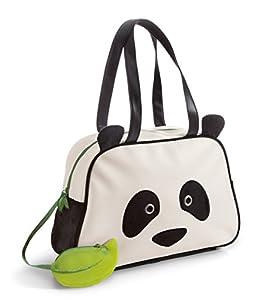 NICI- Bolso Panda imitación Piel y Peluche (41096.0)