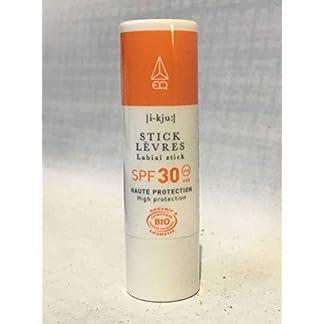 EQ   Protector Labial SPF30 – Filtros Minerales – Bálsamo labial Nutre y Protege los Labios – Protección UVA UVB muy alta – 100% Natural – 5g