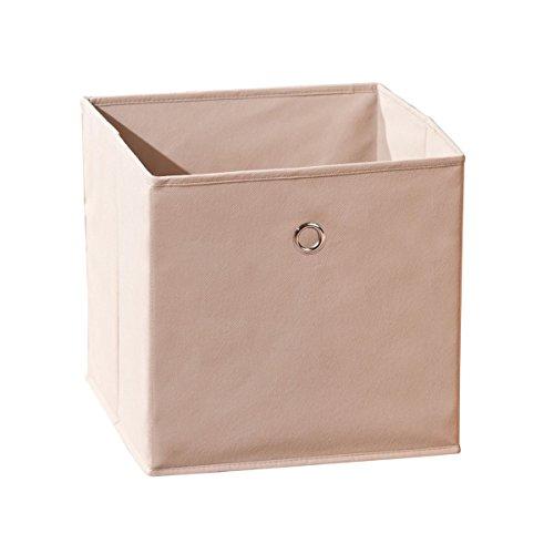 Squareboxx - Bac de Rangement Beige