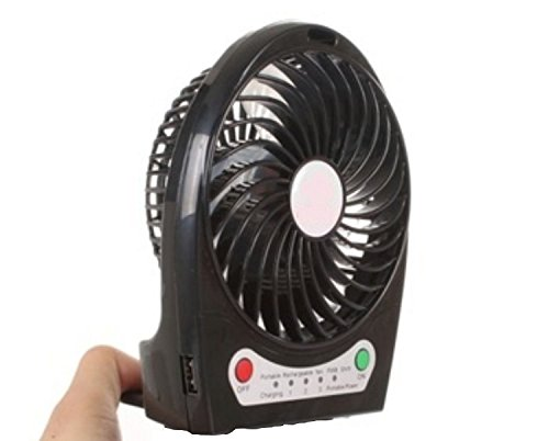 Voltac Powerful Rechargeable USB Mini Fan (Multicolor) Model 431512
