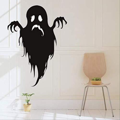 Halloween lustige Ghost Wall Pasten Fenster Glastür Wohnzimmer Hintergrund Dekoration Aufkleber