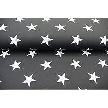 Plástico/Niños/metro/A Partir de 25cm/mejor sudadera de calidad Sudadera de verano Estrellas Grande Blanco sobre Negro
