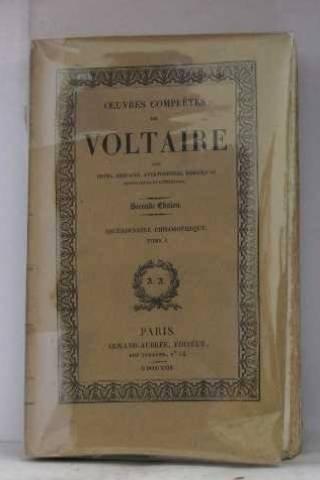 Oeuvres complètes de voltaire, dictionnaire philosophique tome I