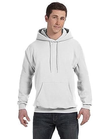 Hanes 7.8 Oz. Comfortblend Ecosmart 50/50 Pullover Hood - White - Xl