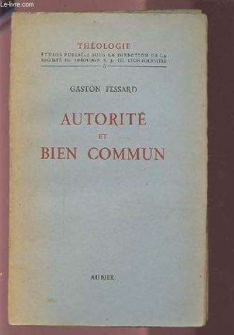 Autorité et Bien Commun.