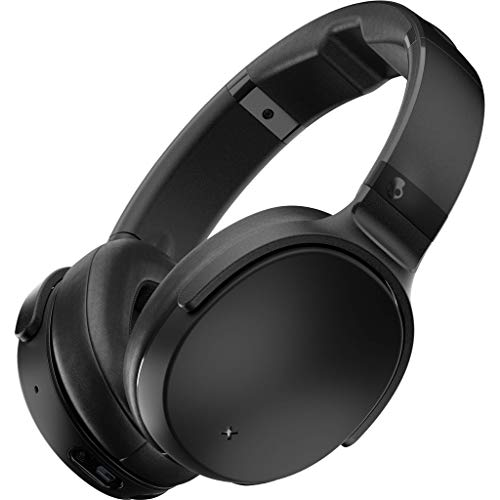 Skullcandy Venue Active Noise Cancelling Headphones, Bluetooth Wireless, Tile Integration, Rapid Charge 24-Hour Battery Life, Lightweight Premium Materials, Black Skullcandy Bluetooth