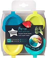 Tommee Tippee Freezer Pots and Tray - Assorted Colors