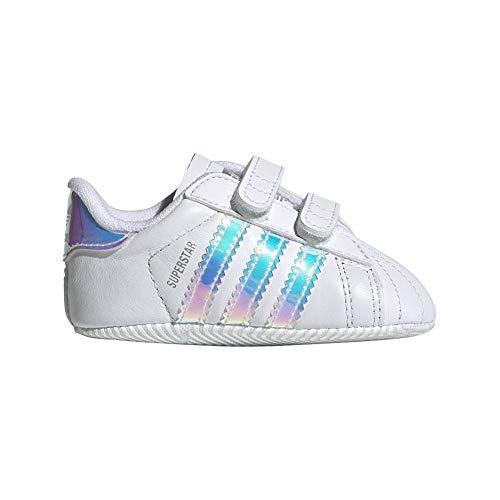 new styles 7730e 24f71 adidas Superstar Crib, Sneaker Unisex Bimbo, Bianco Ftwr WhiteCore Black,  21