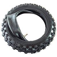 hmparts Dirt bike / Pit bike / Mini Pneu de CROSS - 2.50-10 - Traverser Profile - avec tuyau