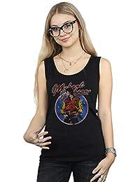 Michael Jackson Mujer Circle Thriller Crest Camiseta Sin Mangas