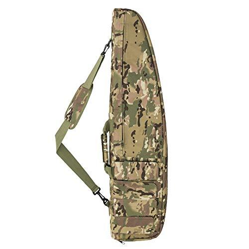 WQ-HUNT, Military Airsoft Rifle Shot Waffe Tasche Camo Scoped Rifle Case Tasche Jagd weich gepolsterte Waffe mit Storage Rifle Zubehör (Color : CP 118cm) Cp-case