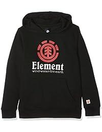 Element Vertical HO Sudadera con Capucha, Hombre, Negro (Flint Black), 10