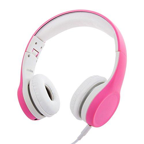 Volumen einzuschränken Kopfhörer Solememo Kids Kopfhörer faltbar KOMPAKT Over-Ear-Kopfhörer mit abnehmbarem Kabel und Musik Share Port für Kinder Jungen Mädchen Kopfhörer