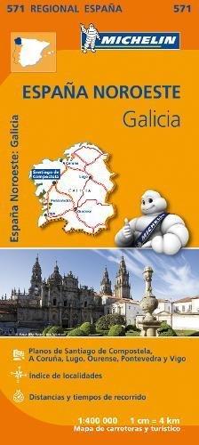 Mapa Regional Galicia (Carte regionali) por Vv.Aa